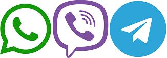 whatsapp viber contact icons